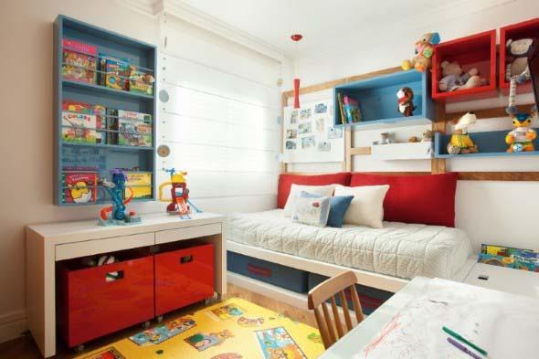 Decoração criativa no quarto das crianças 017