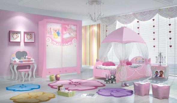 Decoração criativa no quarto das crianças 019