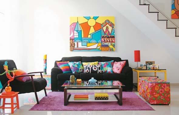 Deixar o apartamento mais colorido 001