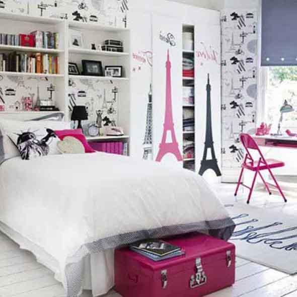 20 ideias de decoração para quarto de solteira