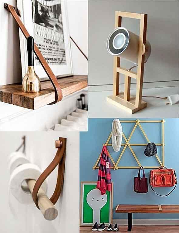 Artesanato Ideias Inovadoras ~ Ideias inovadoras para fazer com restos de madeira