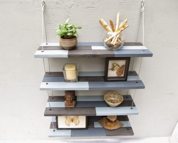 Armario Retro Pequeno ~ Ideias inovadoras para fazer com restos de madeira