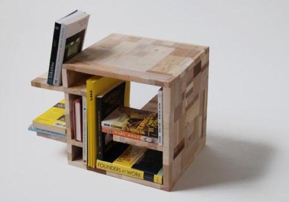 Ideias inovadoras para fazer com restos de madeira - Meuble recup ...