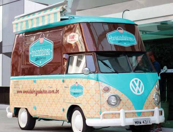 Todo o charme da Kombi Food Truck 017