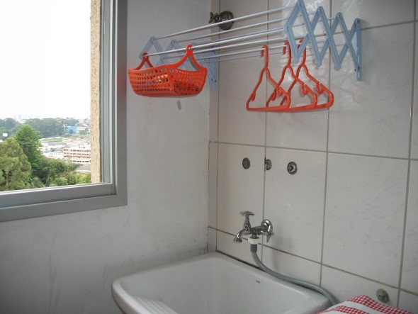 Varal para quem mora em apartamentos 002