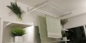Varal para quem mora em apartamentos 012