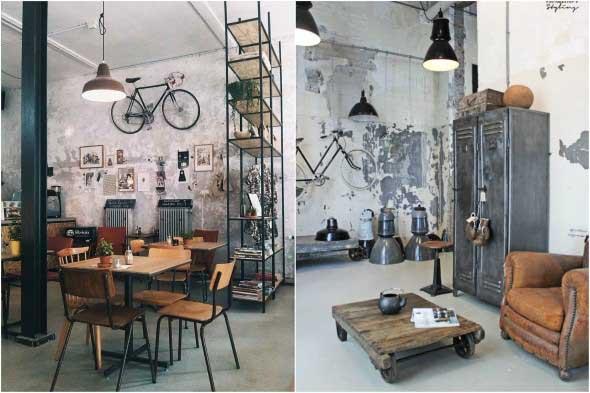 Visual industrial na decoração 002