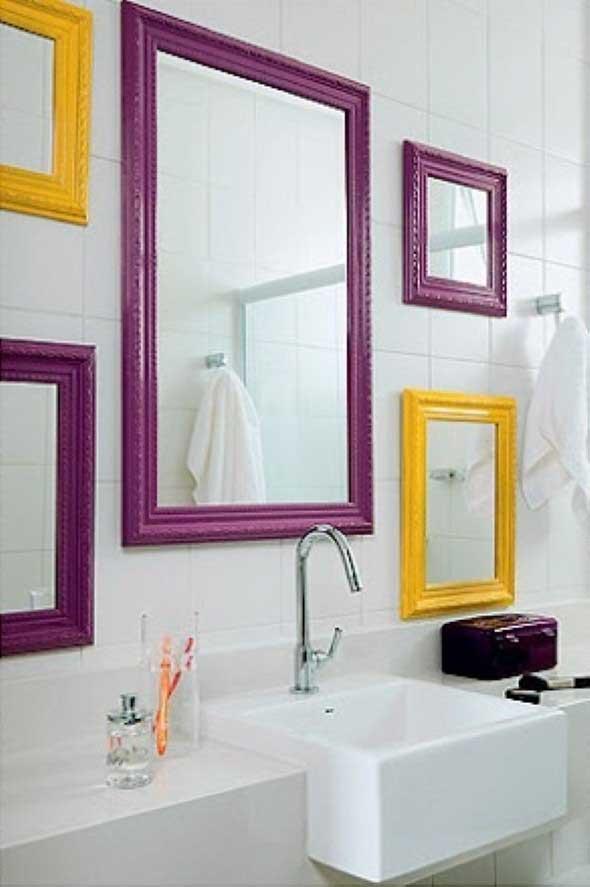 espelhos criativos para ter no banheiro 005