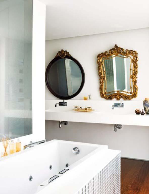 espelhos criativos para ter no banheiro 010