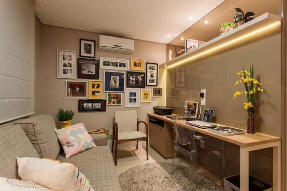 21 Ideias de decoração com quadros para sua casa 021