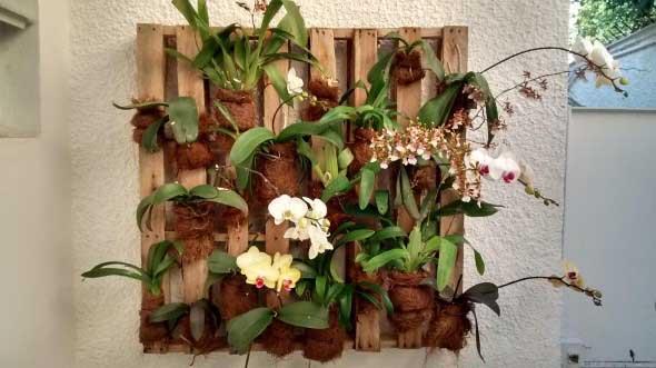 Aprenda a fazer um jardim vertical com paletes 006