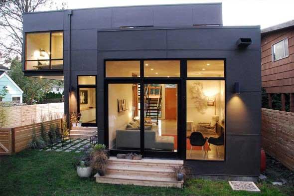 20 modelos de casas pequenas e confort veis for Modelos de casas pequenas