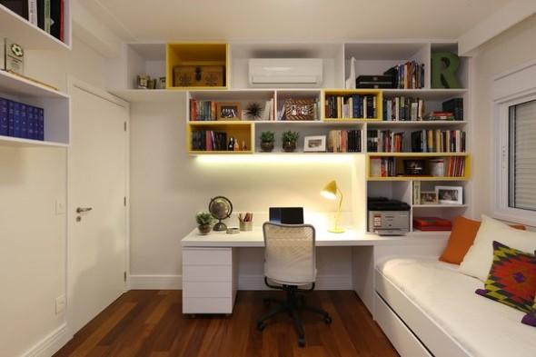 22 ideias de como montar seu escrit rio em casa for Ideas para decorar escritorio