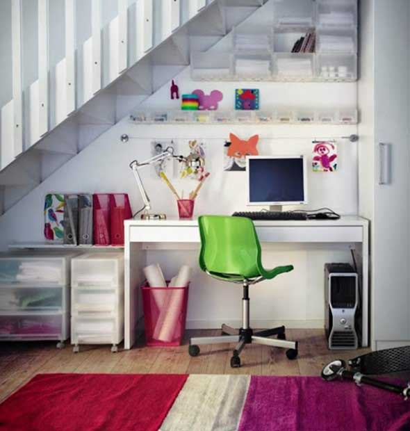 22 ideias de como montar seu escrit rio em casa - Escritorios para casas pequenas ...