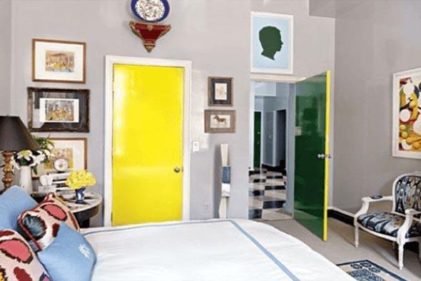 Cores das portas podem fazer diferença na decoração 005