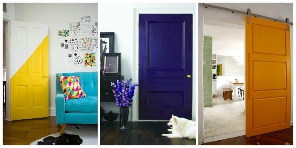 Cores das portas podem fazer diferença na decoração 010