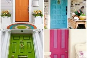 Cores das portas podem fazer diferença na decoração 012