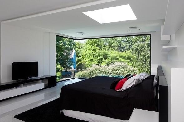 22 modelos de decora o preto e branco no quarto for Como disenar mi dormitorio