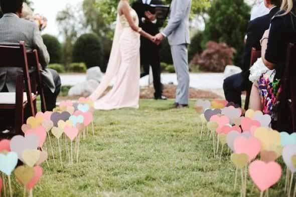 Ideias DIY de decoração casamento 012