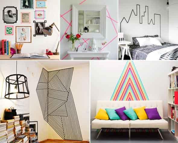 Ideias criativas e baratas para decorar parede 005