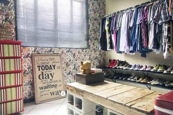 Ideias criativas e baratas para decorar parede 012