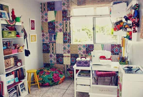 Ideias criativas e baratas para decorar parede 013
