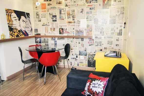 Ideias criativas e baratas para decorar parede 015