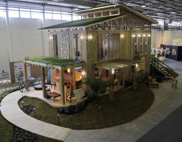 Projeto de casas sustentáveis 013