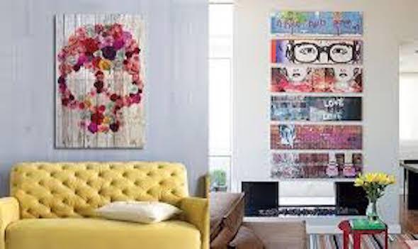 quadros na decoracao