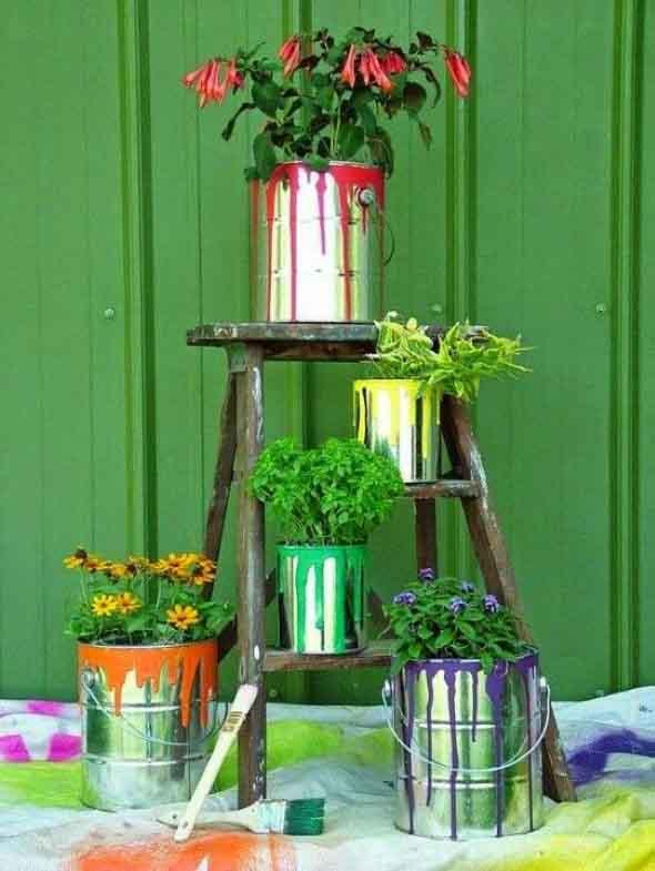 17 Modelos de vasos artesanais para decoração 007