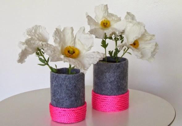 17 Modelos de vasos artesanais para decoração 009