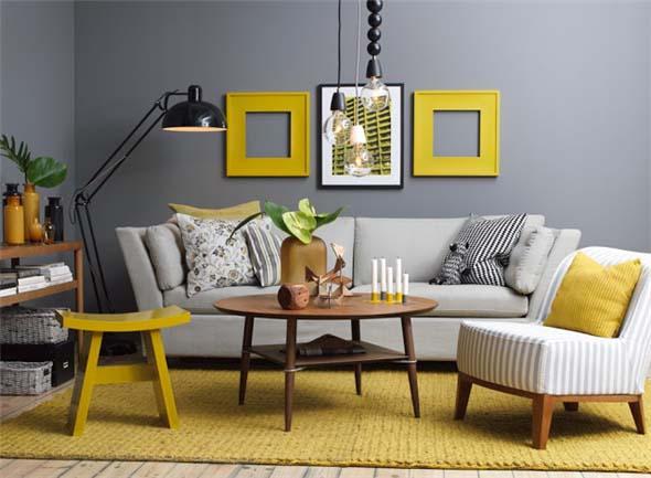 Amarelo na decoração 001