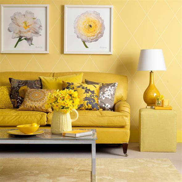 Amarelo na decoração 002