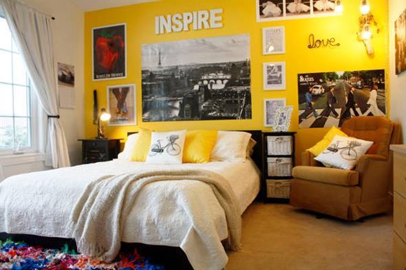 Amarelo na decoração 004