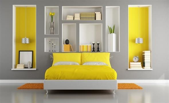Amarelo na decoração 005