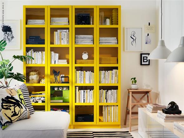 Amarelo na decoração 019