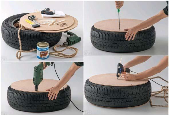 Como fazer uma mesa com pneu usado 004