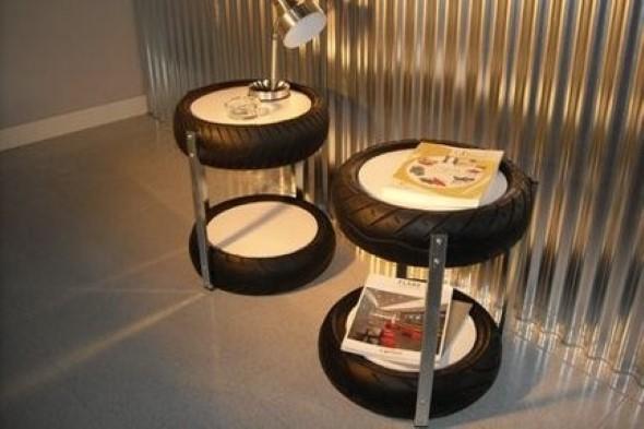 Como fazer uma mesa com pneu usado 007