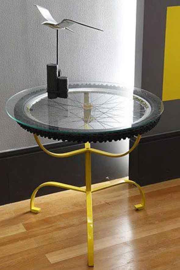 Como fazer uma mesa com pneu usado 009