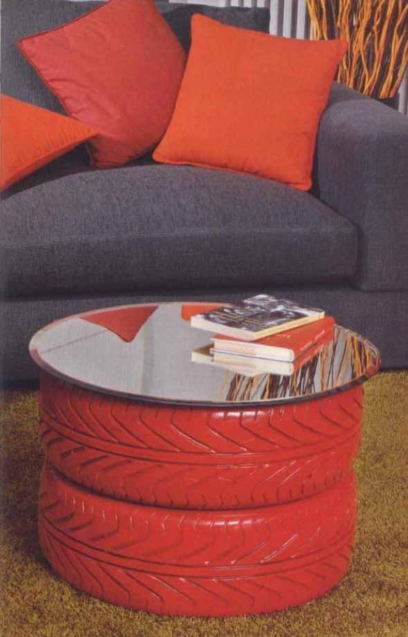 Como fazer uma mesa com pneu usado 014