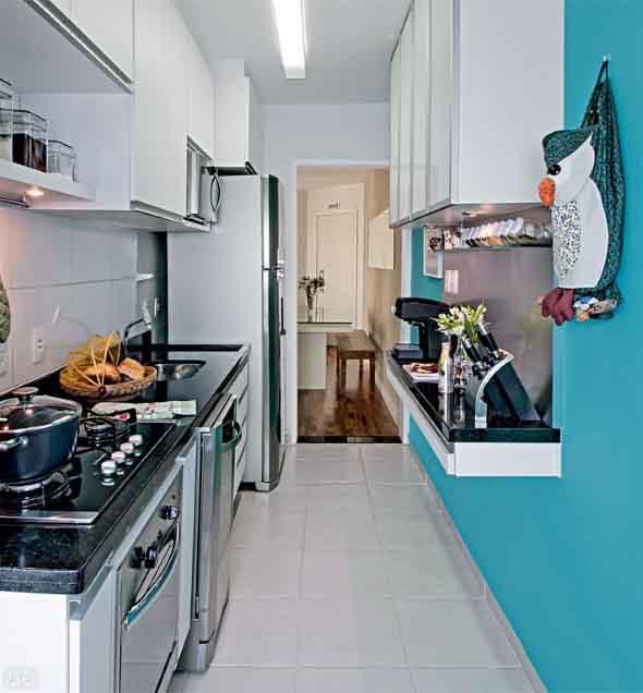 Dicas para aumentar o espaço da cozinha pequena 014