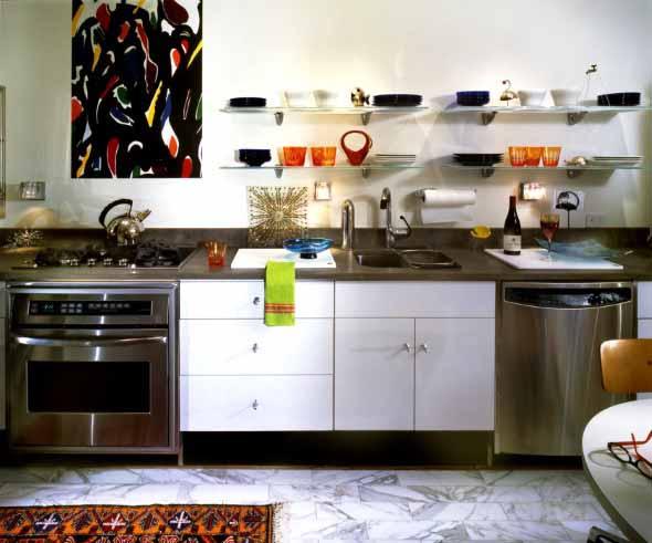 Dicas para aumentar o espaço da cozinha pequena 015