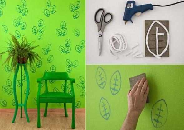 Objetos inusitados para pintar as paredes da casa 011