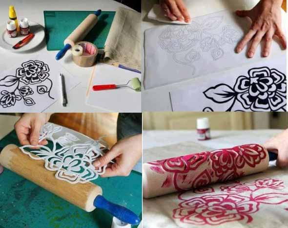 Objetos inusitados para pintar as paredes da casa 012