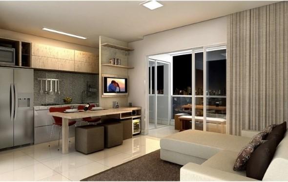 Sala integrada – Mais espaço no AP 011