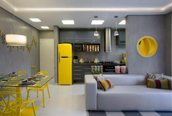 Sala integrada – Mais espaço no AP 016