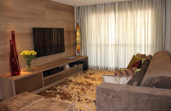 Como harmonizar a decora o da sala de estar for Cortinas de sala modernas 2016