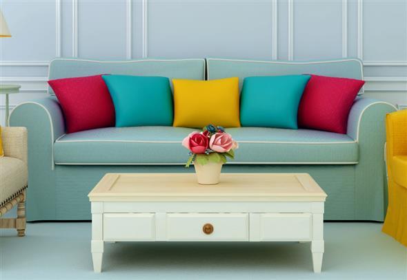 Como harmonizar a decoração de sua sala de estar 006