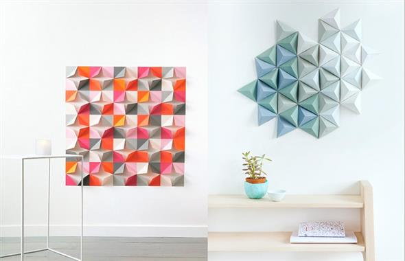 Idéias DIY para decorar paredes vazias 001