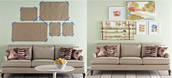 Idéias DIY para decorar paredes vazias 004